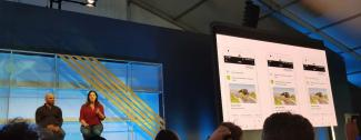 FlixBus at a conference