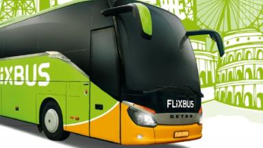 Illustration of a FlixBus